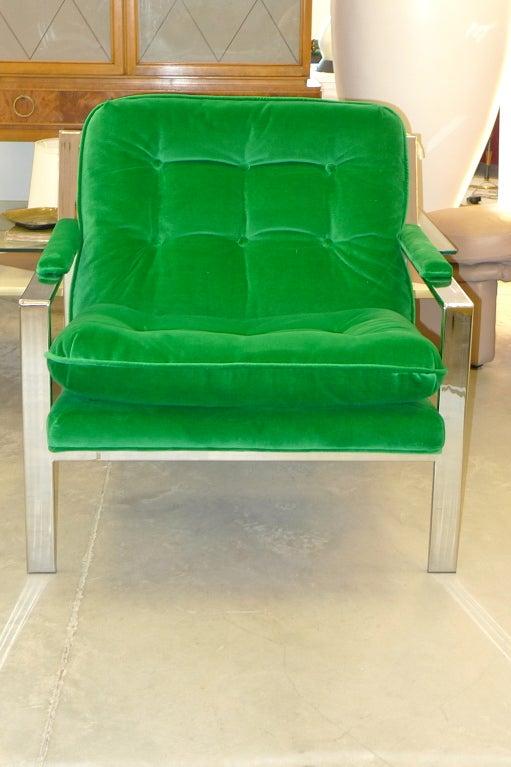 Cy Mann Chrome Lounge Chair 10