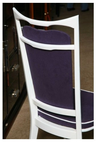 Set of 6 French Art Deco Dining Chairs For Sale 3