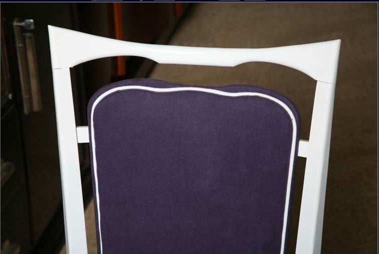 Set of 6 French Art Deco Dining Chairs For Sale 5