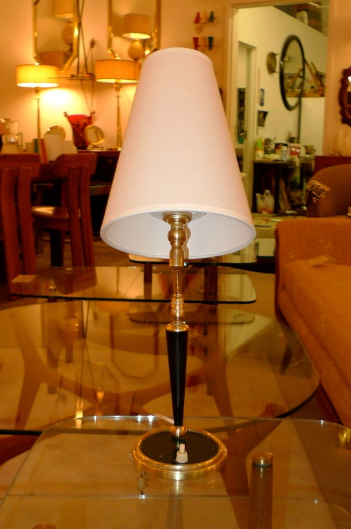 French 1950's Articulating Arm Table Lamp by Lunel For Sale 4