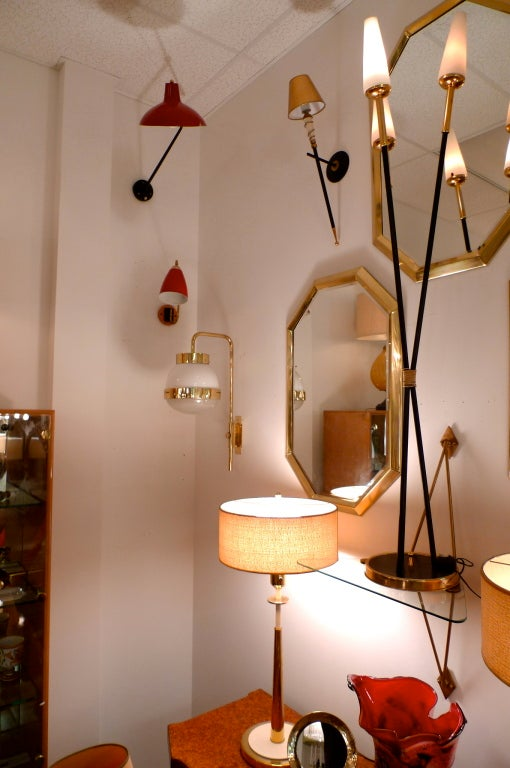 Brass Sergio Mazza for Artemide