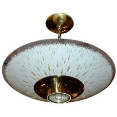 Mid-Century Lightolier Pacemaker Ceiling Light