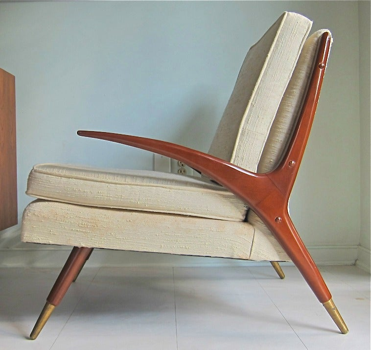Mid-Century Modern Chair in the style of Franco Albini 2