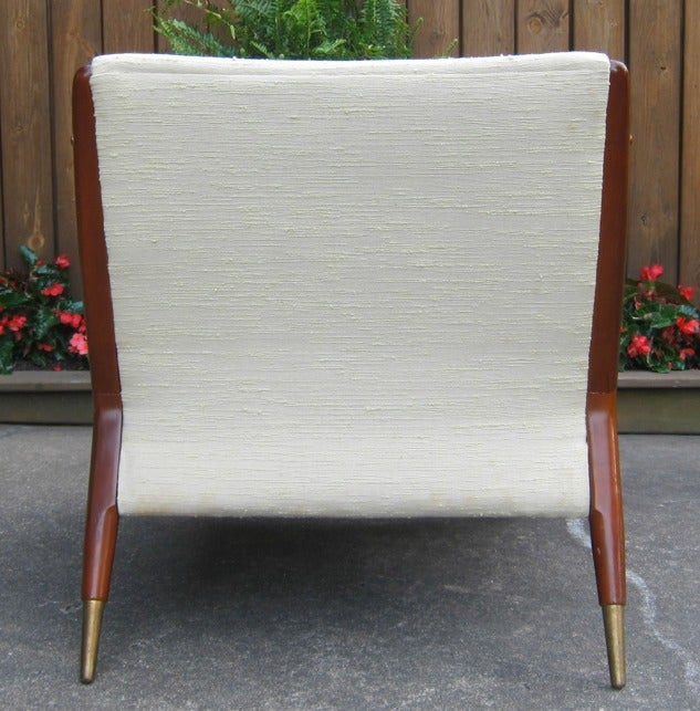 Mid-Century Modern Chair in the style of Franco Albini 4