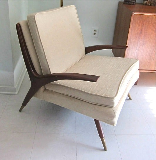 Mid-Century Modern Chair in the style of Franco Albini 5