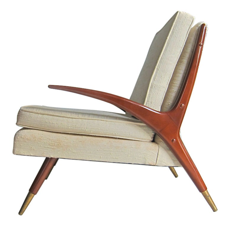 Mid-Century Modern Chair in the style of Franco Albini 1