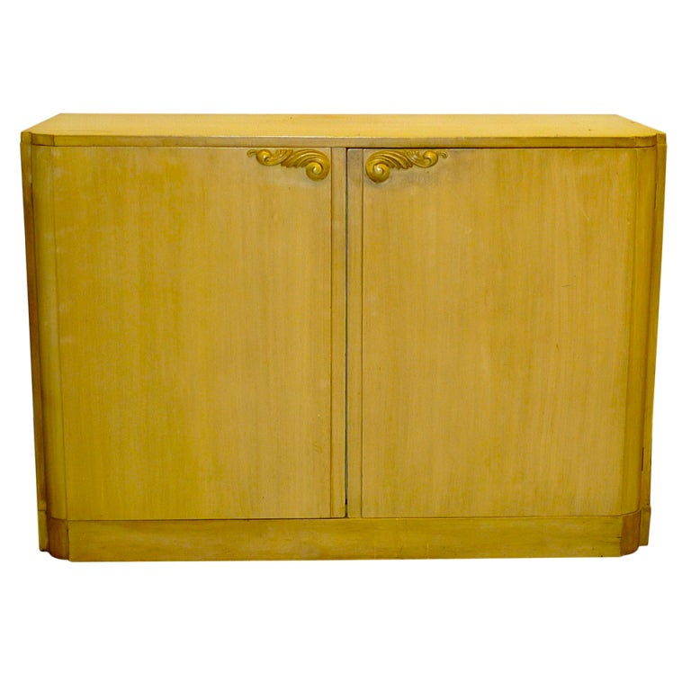 Lorin Jackson for Grosfeld House Double Door Chest of Drawers