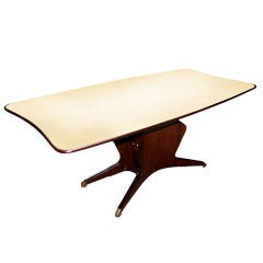 Fratelli Turri Dining Table with Marble Top