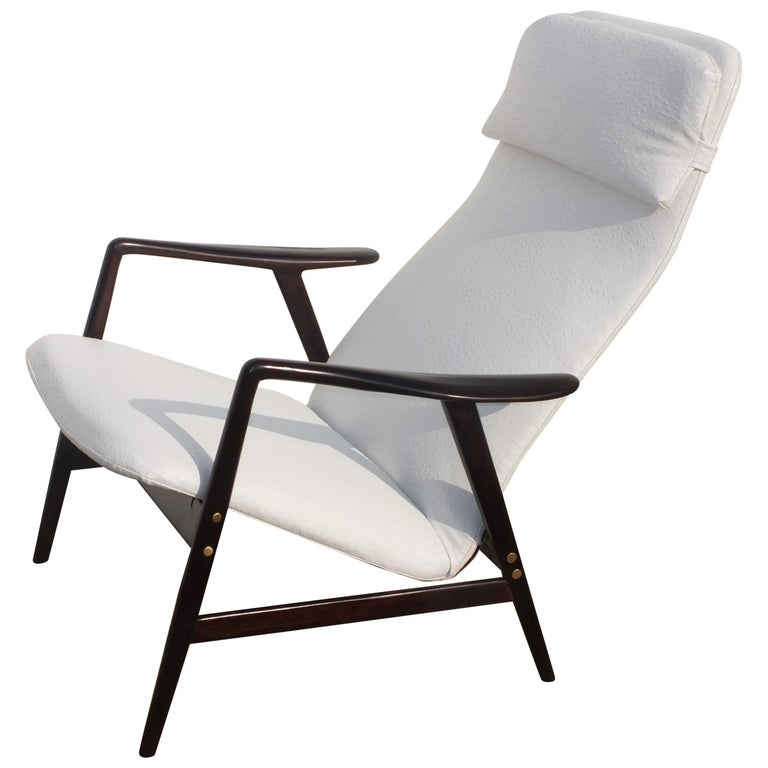 Alf Svensson Reclining Lounge Chair For Sale