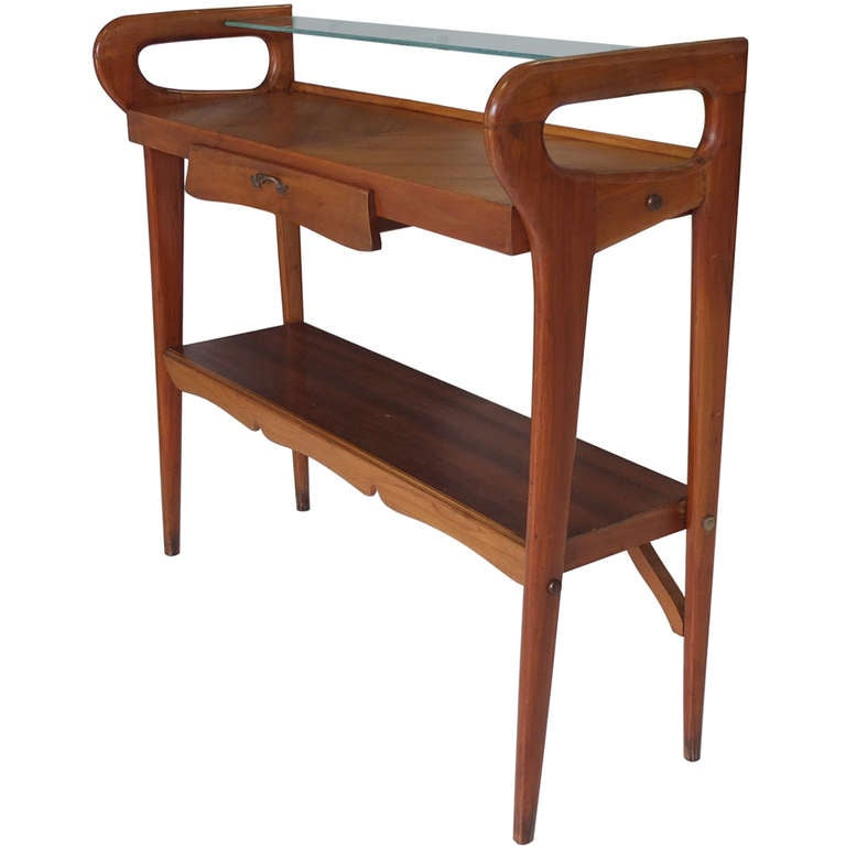 1950's Italian Console Table After ico Parisi