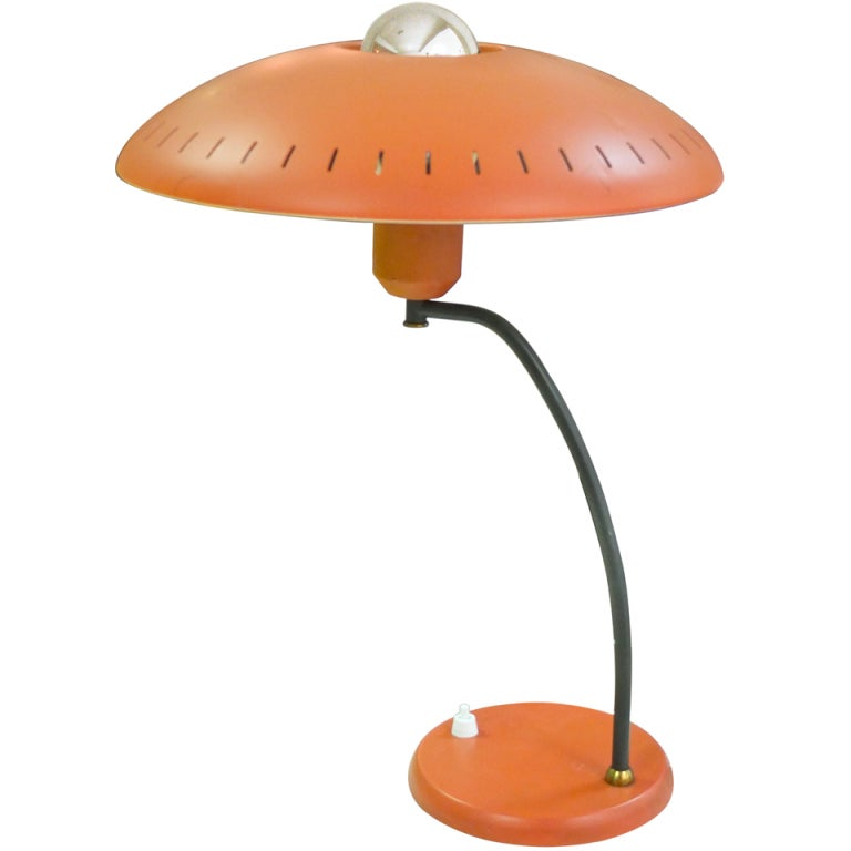 louis kalff for philips desk lamp at 1stdibs