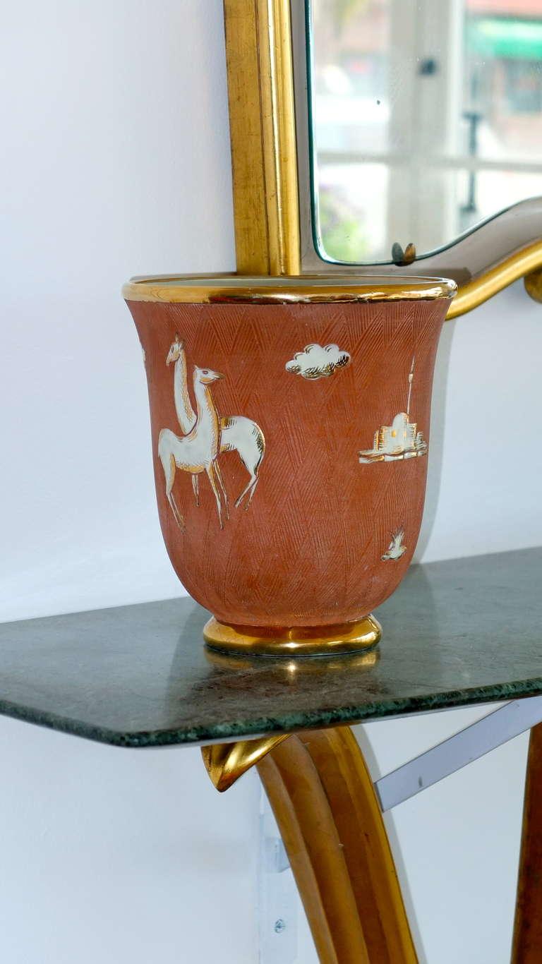 Mid-20th Century Italian Art Deco Vase For Sale