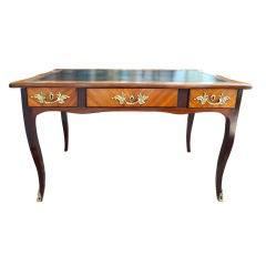 Period Louis XVI Kingwood & Purple Heart Writing Desk