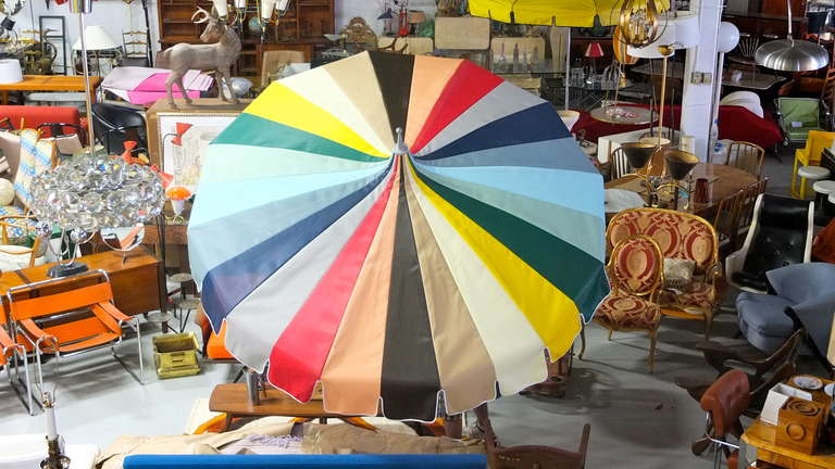 Vintage Pagoda Umbrella At 1stdibs