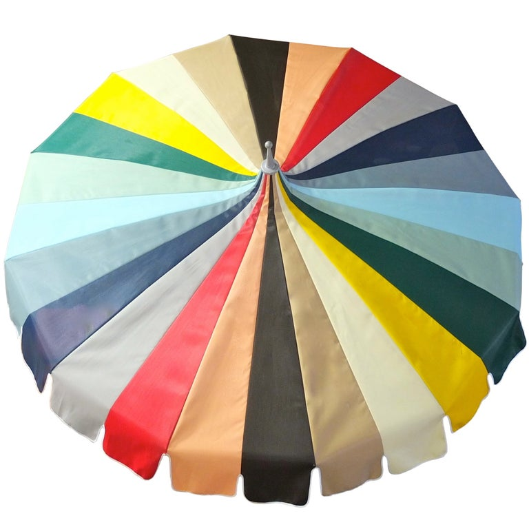 Vintage Pagoda Umbrella For Sale