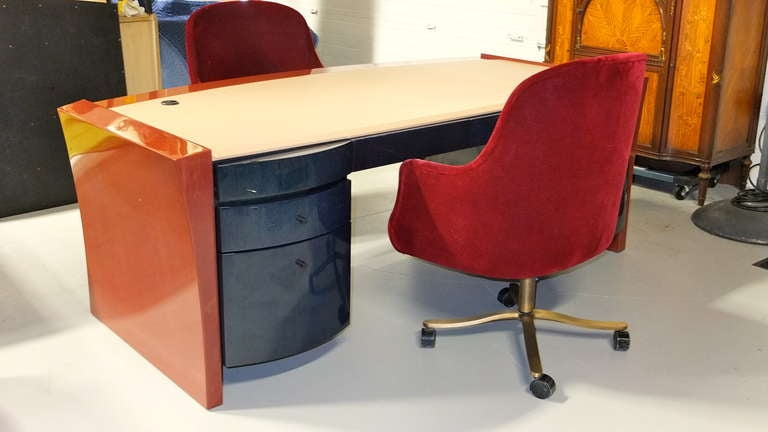 Dakota Jackson Executive Desk At 1stdibs