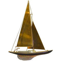 Curtis Jere Wall Mounted Sailboat
