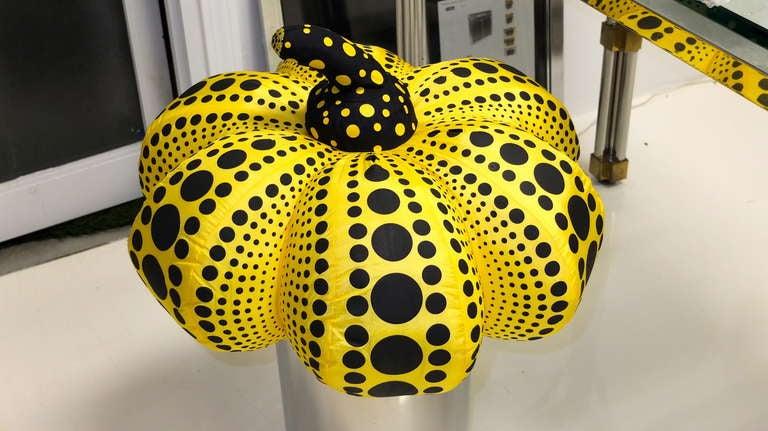 """Yayoi Kusama """"Dots Obsession"""" Stuffed Sculpture 4"""