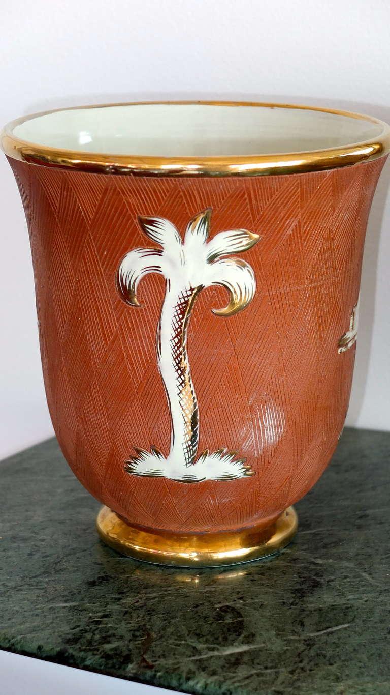 Italian Art Deco Vase For Sale 2