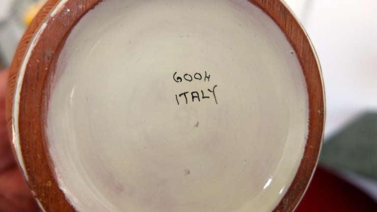 Italian Art Deco Vase For Sale 6