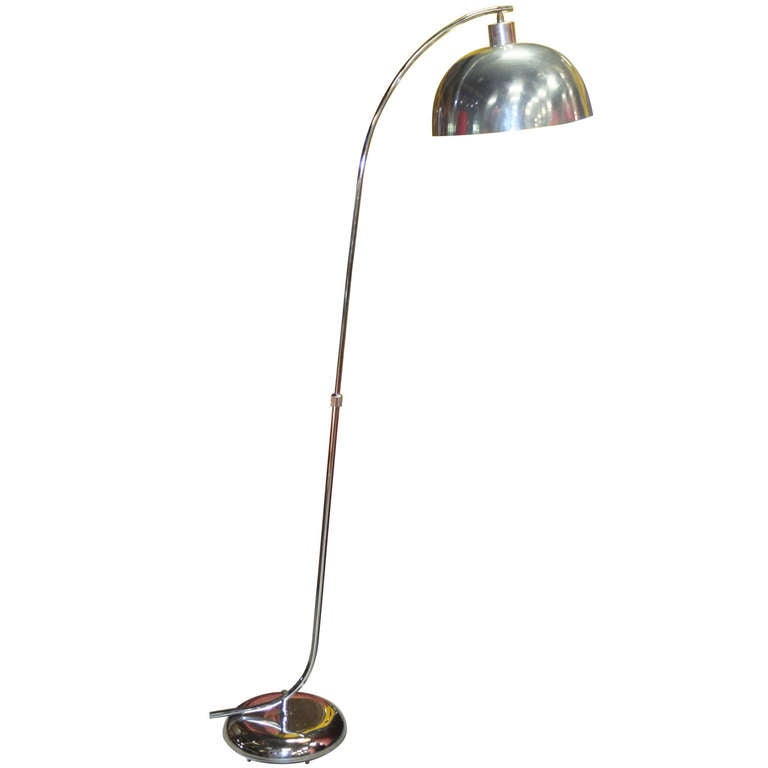 Adjustable Arc Floor Lamp At 1stdibs