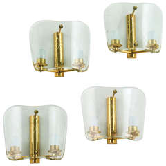 Four Pairs of Italian Sconces