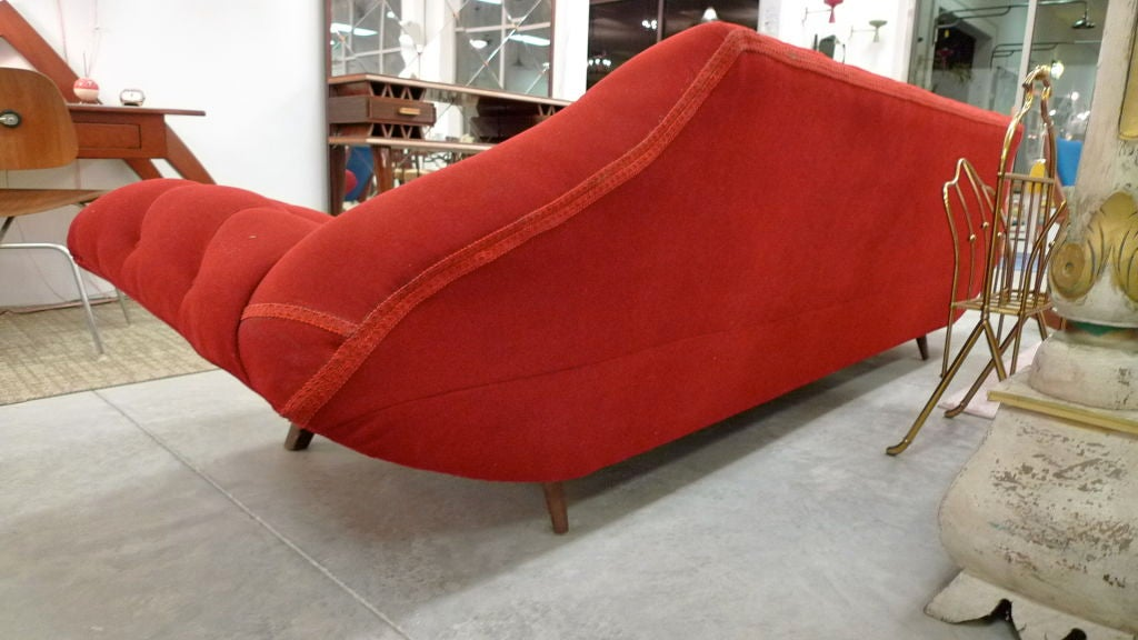 Tufted Long Gondola Sofa by Adrian Pearsall for Craft Associates image 6