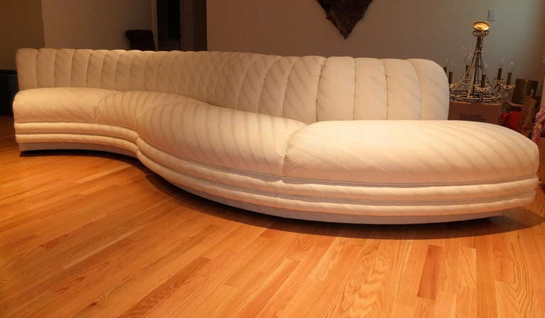 Serpentine Curvaceous Sectional 7