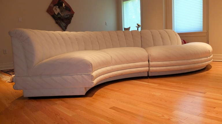Serpentine Curvaceous Sectional 4