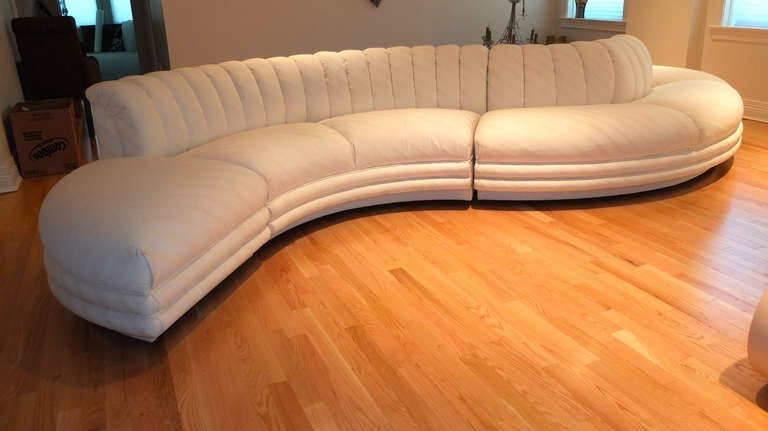 Serpentine Curvaceous Sectional 3