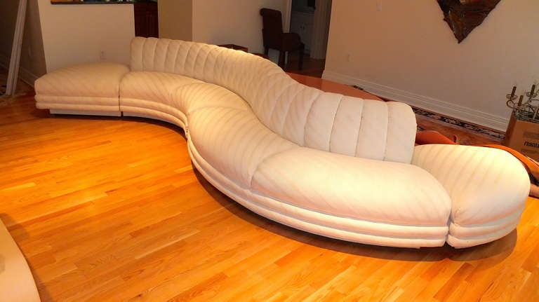 Serpentine Curvaceous Sectional 2