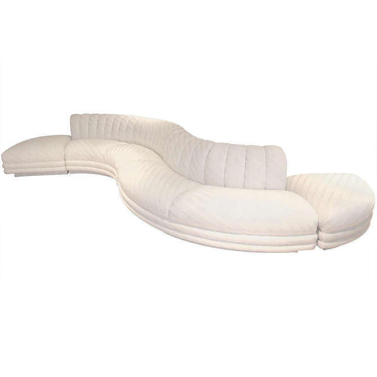 Serpentine Curvaceous Sectional 1