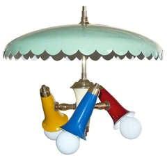 Early 1950's Stilnovo Carousel Pendant (2 of 2)