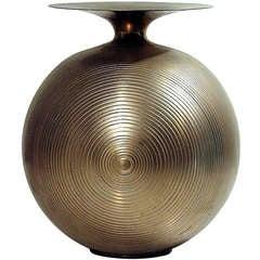 Italian Brass Vase