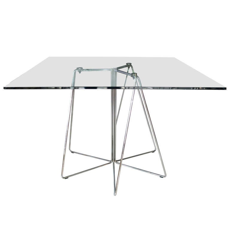 Massimo & Lella Vignelli Paperclip Table For Knoll For Sale
