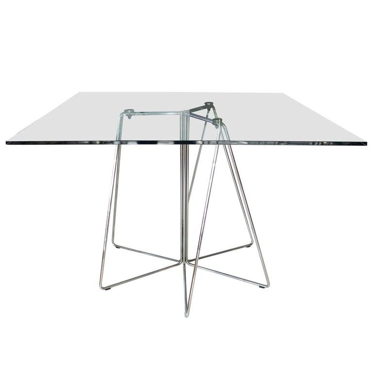Massimo & Lella Vignelli Paperclip Table For Knoll For Sale