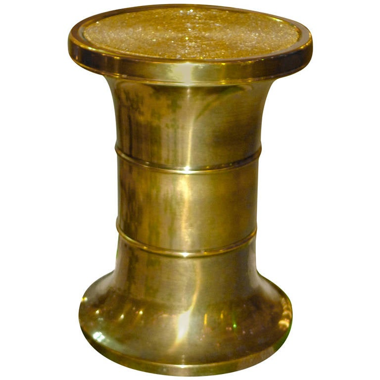 Mastercraft Patinated Brass Pedestal