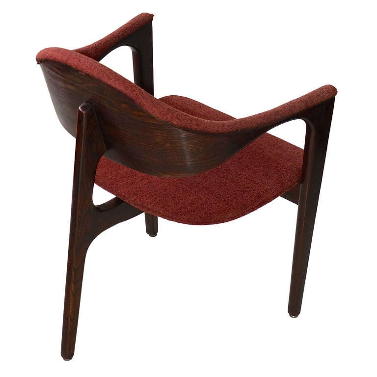 Mid-Century Three Legged Chair For Sale - Mid-Century Three Legged Chair At 1stdibs