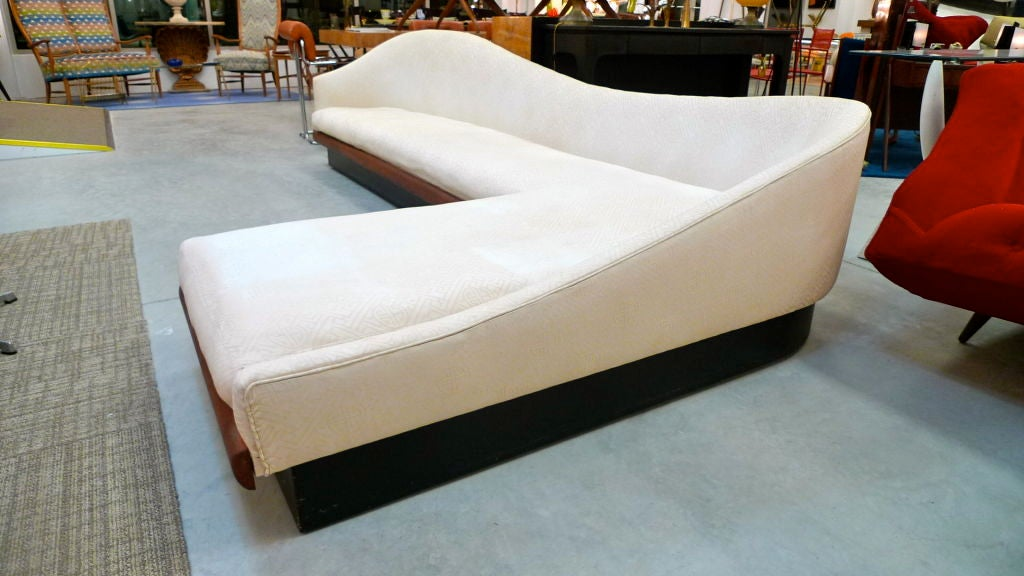 Rare Curvaceous L Shaped Platform Sofa By Adrian Pearsall At 1stdibs