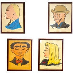 Dick Tracy Villains - Set Of Four