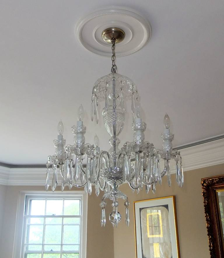 Waterford Crystal Avoca SixArm Chandelier For Sale at 1stdibs – Waterford Lismore Chandelier
