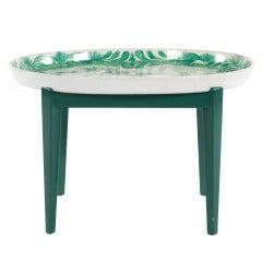Bjorn Wiinblad Ceramic Oval Tray Table