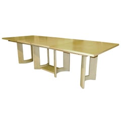 Virginia Conner for Grosfeld House Parquet-Top Dining Table