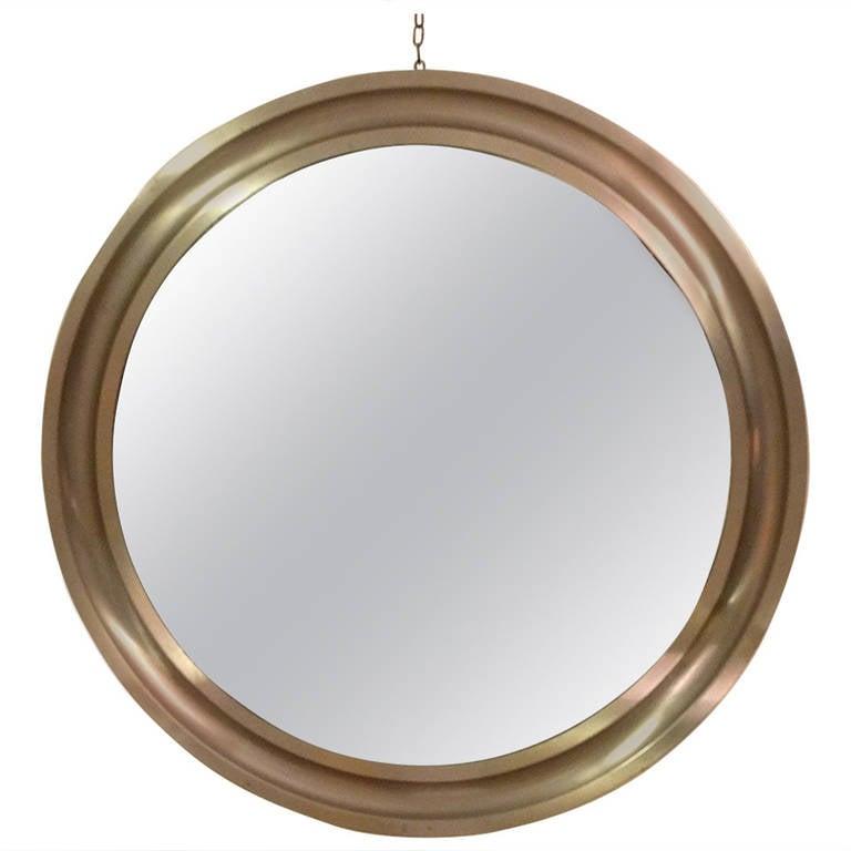 """Sergio Mazza """"Narcisso"""" Mirror for Artemide, 1969"""