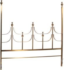Mastercraft Brass King Size Headboard