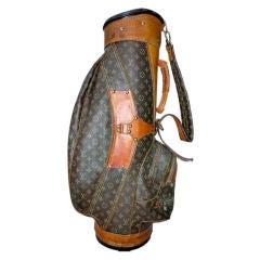 Vintage Louis Vuitton Golf Bag