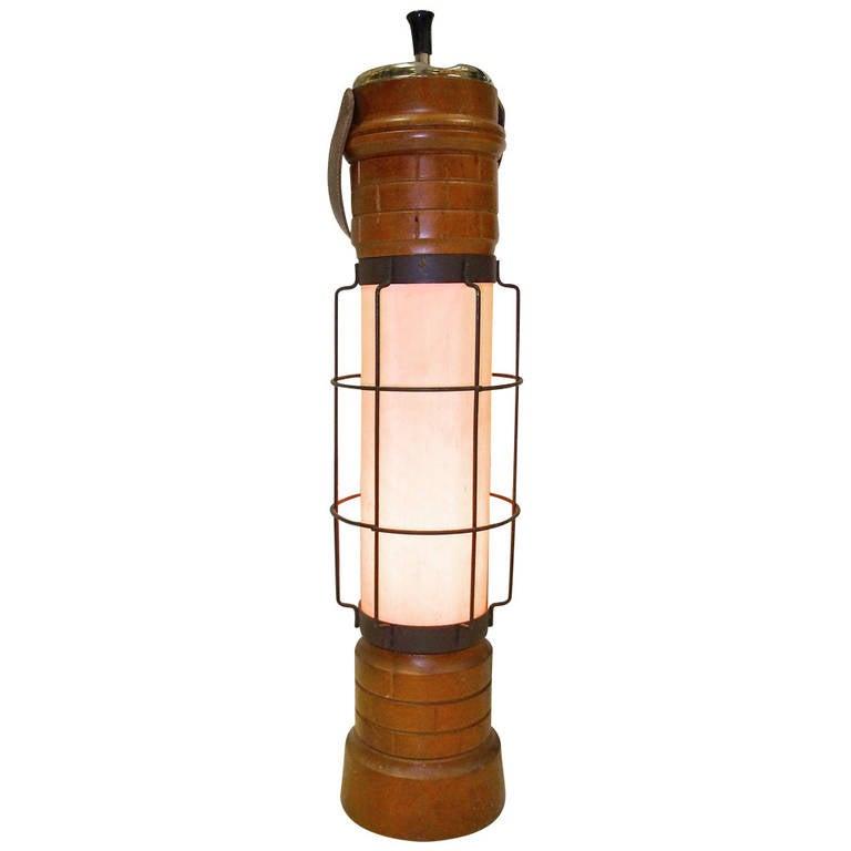 Aldo Tura Attributed Floor Lamp Cendrier