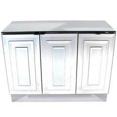 Ello Mirrored Three Door Cabinet