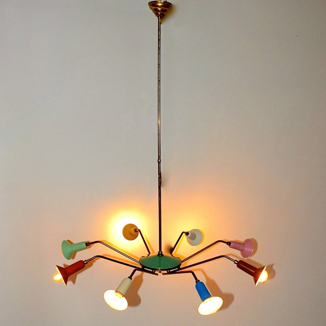 Colorful Chandelier Modern Colorful Chandelier