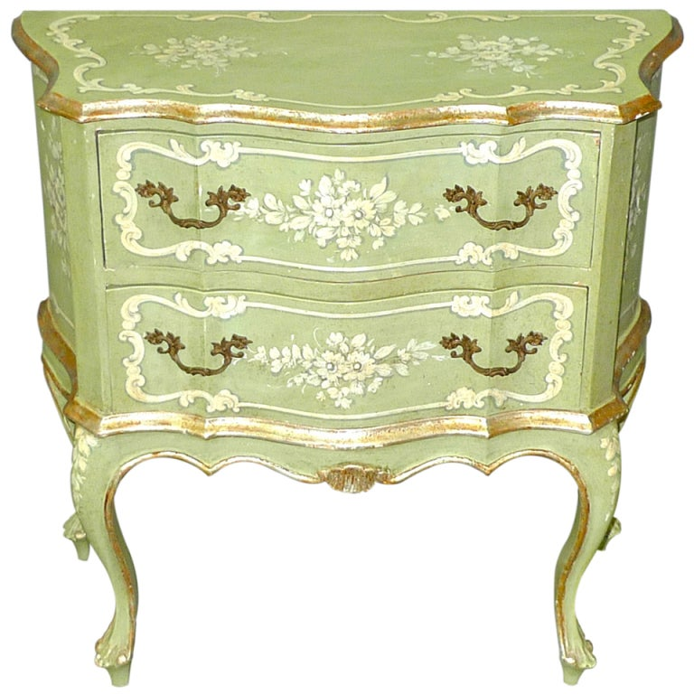 Hand Painted Venetian Chest At 1stdibs